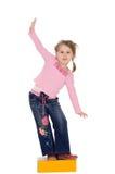 παιδί ισορροπιών Στοκ φωτογραφίες με δικαίωμα ελεύθερης χρήσης
