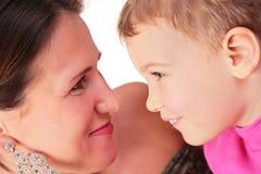 παιδί κάθε μητέρα βλέμματο&sigmaf Στοκ Εικόνες