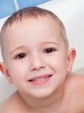 παιδί λίγο χαμόγελο στοκ εικόνα