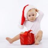 παιδί λίγο santa Στοκ φωτογραφία με δικαίωμα ελεύθερης χρήσης