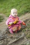 παιδί λασπώδες Στοκ φωτογραφία με δικαίωμα ελεύθερης χρήσης