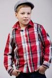 Παιδί με την τοποθέτηση Στοκ Εικόνες