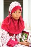 παιδί μουσουλμάνος Στοκ Φωτογραφίες