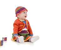 Παιδί νηπίων Στοκ εικόνα με δικαίωμα ελεύθερης χρήσης
