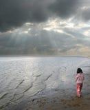 παιδί παραλιών στοκ εικόνα με δικαίωμα ελεύθερης χρήσης