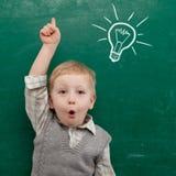 παιδί πινάκων Στοκ φωτογραφία με δικαίωμα ελεύθερης χρήσης