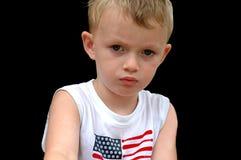 παιδί που ανατρέπεται στοκ εικόνα