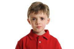 παιδί που ανησυχείται Στοκ φωτογραφία με δικαίωμα ελεύθερης χρήσης