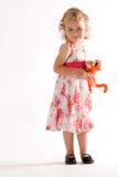 παιδί που γεμίζεται ζωικ στοκ φωτογραφία με δικαίωμα ελεύθερης χρήσης