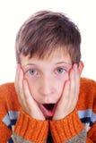 παιδί που τρομάζεται Στοκ εικόνα με δικαίωμα ελεύθερης χρήσης