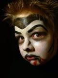 παιδί 2 makeup Στοκ Εικόνες