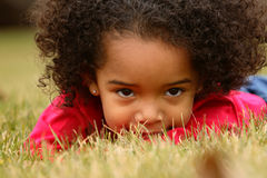 παιδί afro Στοκ φωτογραφία με δικαίωμα ελεύθερης χρήσης