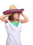 παιδί dressup που παίζει Στοκ Φωτογραφία