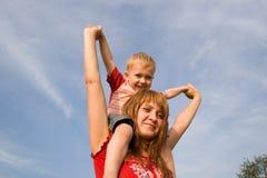 παιδί mom Στοκ Φωτογραφίες
