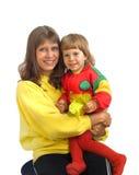 παιδί mum Στοκ εικόνα με δικαίωμα ελεύθερης χρήσης