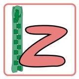 παιδιά αλφάβητου απεικόνιση αποθεμάτων