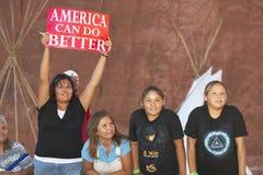 Παιδιά αμερικανών ιθαγενών στοκ φωτογραφίες με δικαίωμα ελεύθερης χρήσης