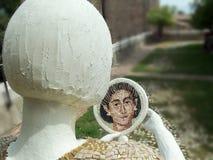 Παιδιά αρχιτεκτονικής μωσαϊκών τέχνης γλυπτών στοκ εικόνες