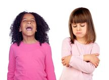 παιδιά αστεία Στοκ φωτογραφία με δικαίωμα ελεύθερης χρήσης