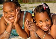 παιδιά αφροαμερικάνων Στοκ Φωτογραφία