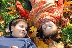 παιδιά δύο στοκ εικόνα με δικαίωμα ελεύθερης χρήσης
