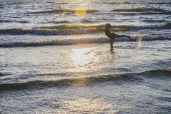 Παιδιά εν πλω Στοκ εικόνα με δικαίωμα ελεύθερης χρήσης
