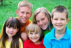 παιδιά ευτυχή Στοκ Φωτογραφία