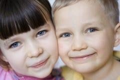 παιδιά ευτυχή Στοκ εικόνα με δικαίωμα ελεύθερης χρήσης