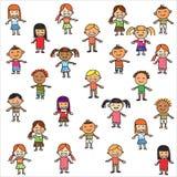 παιδιά ζωηρόχρωμα Στοκ φωτογραφίες με δικαίωμα ελεύθερης χρήσης