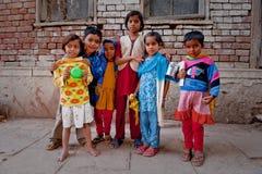 παιδιά Ινδός Στοκ Εικόνα