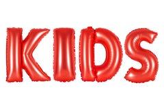 Παιδιά, κόκκινο χρώμα απεικόνιση αποθεμάτων