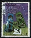 Παιδιά που σύρουν από το Pablo Πικάσο Στοκ φωτογραφία με δικαίωμα ελεύθερης χρήσης