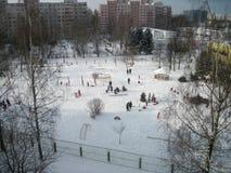 Παιδιά σε έναν περίπατο Στοκ Εικόνες