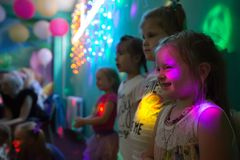 Παιδιά στις διακοπές Στοκ φωτογραφία με δικαίωμα ελεύθερης χρήσης
