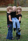 παιδιά τρία στοκ εικόνα με δικαίωμα ελεύθερης χρήσης
