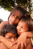 Παιδιά Embera στοκ εικόνα