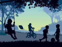 παιδική ηλικία απεικόνιση αποθεμάτων