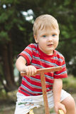 παιδική χαρά αγοριών Στοκ φωτογραφίες με δικαίωμα ελεύθερης χρήσης