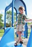 παιδική χαρά αγοριών Στοκ Εικόνες