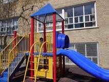 παιδική χαρά εξοπλισμού Στοκ Εικόνα