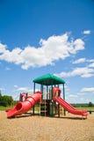 παιδική χαρά ημέρας ηλιόλουστη Στοκ Εικόνες