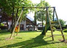 παιδική χαρά κήπων Στοκ φωτογραφία με δικαίωμα ελεύθερης χρήσης