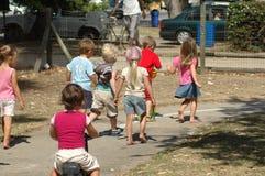 παιδική χαρά κατσικιών Στοκ Εικόνες