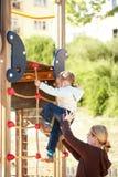 παιδική χαρά κατσικιών Στοκ εικόνες με δικαίωμα ελεύθερης χρήσης