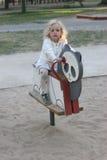 παιδική χαρά s παιδιών Στοκ Εικόνα