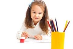 παιδικός σταθμός κοριτσ&iot στοκ εικόνες με δικαίωμα ελεύθερης χρήσης