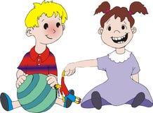 παιδικό παιχνίδι Στοκ φωτογραφία με δικαίωμα ελεύθερης χρήσης