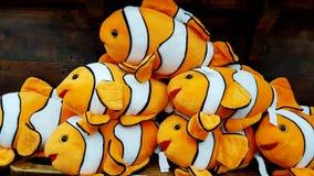 Παιχνίδια βελούδου Nemo στοκ εικόνα
