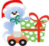 παιχνίδια δώρων Χριστουγέ&nu Στοκ εικόνα με δικαίωμα ελεύθερης χρήσης