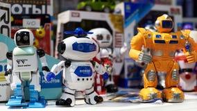 Παιχνίδια ρομπότ στο κατάστημα Στοκ Εικόνες